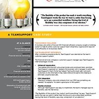 TeamSupport helpdesk app case study image