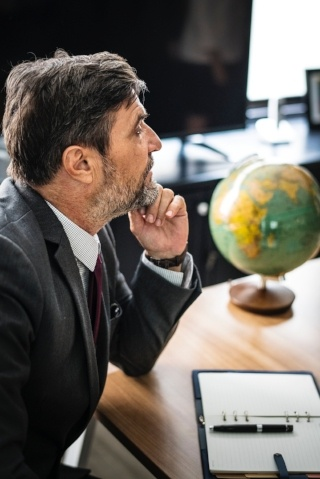 business man with globe-373625-edited