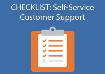 self-service-support-checklist