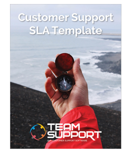 customer support SLA template