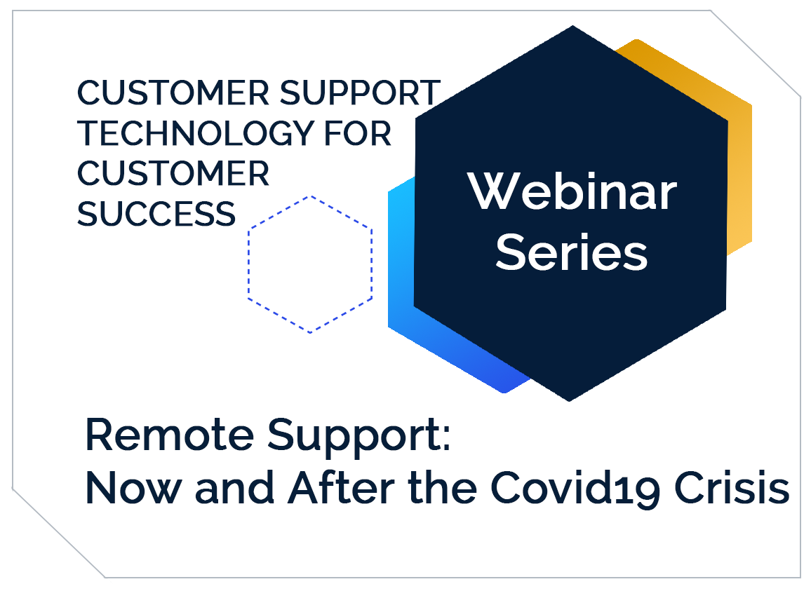 ASP Webinar Graphic- Remote Support- Now and After the Covid 19 Crisis